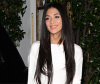 Nicole Scherzinger creates long hairstyle with hair extensions
