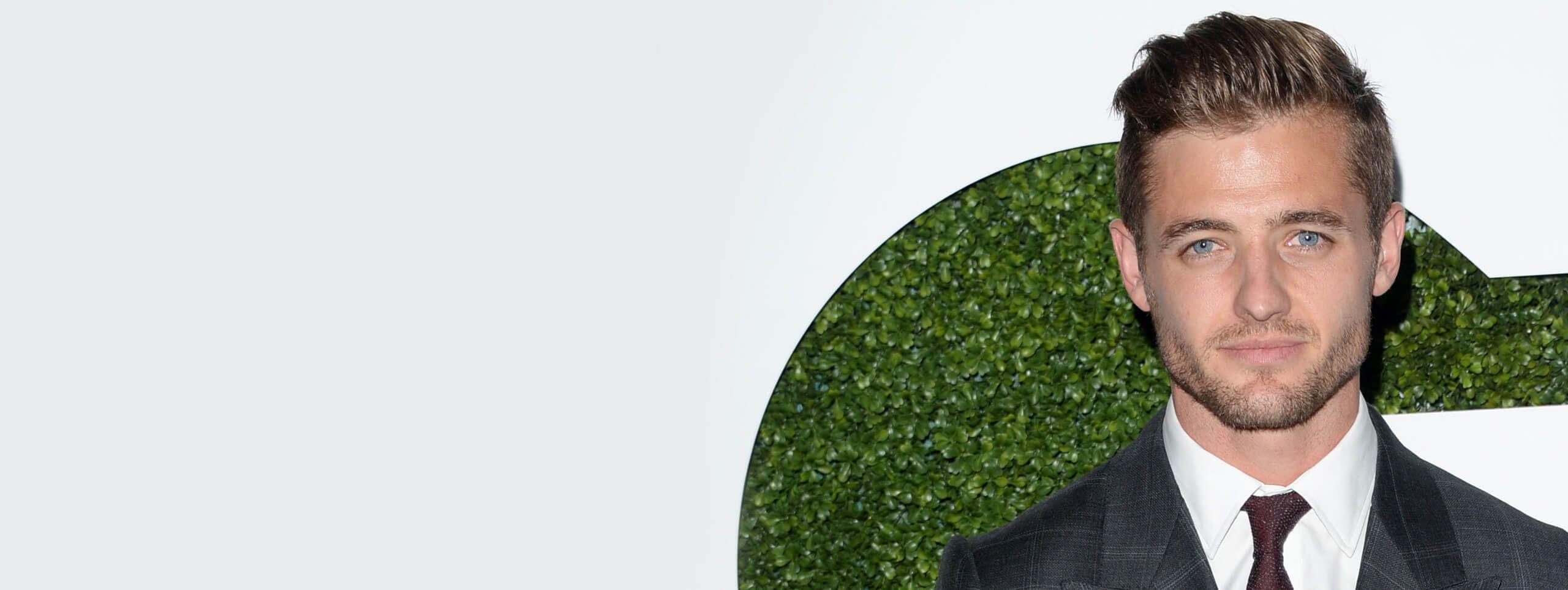 Capelli eleganti da uomo: Robbie Rogers con taglio corto curato