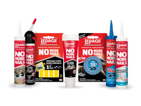 No More Nails® Latex Construction Adhesives
