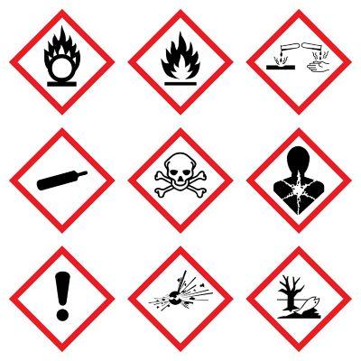 Gefahrensymbole Bedeutung