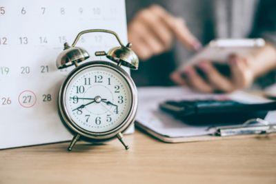 Zeitmanagement Uhr