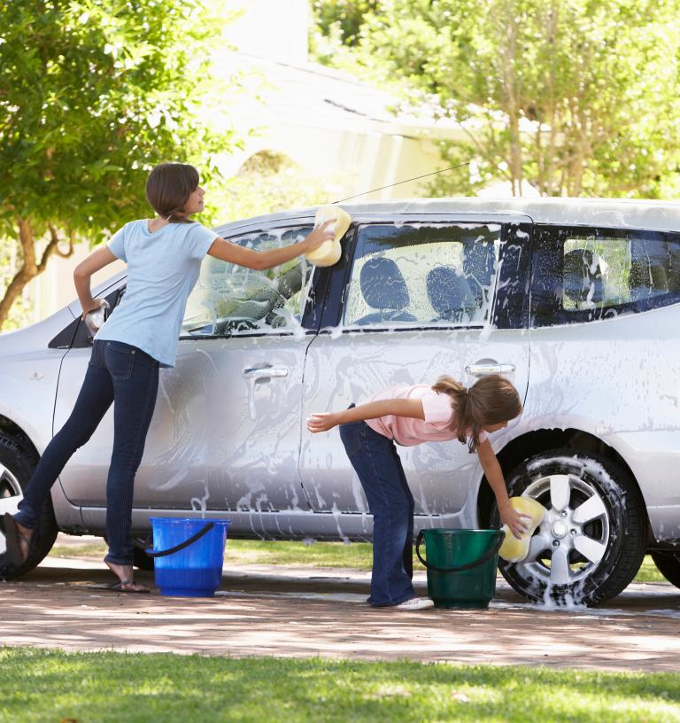 Haushaltsplan für Kinder Auto