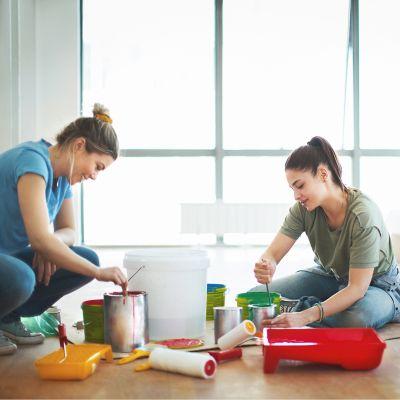 Wandfarbe entsorgen
