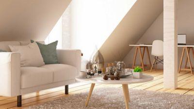 dachgeschosswohnung hitze, eine geschmackvoll eingerichtete Dachgeschosswohnung
