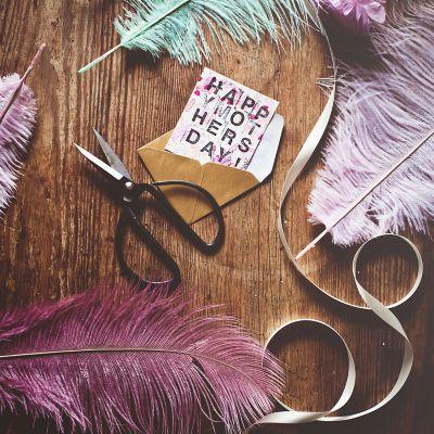 Muttertagsgeschenk DIY, selbstgemachte Karte