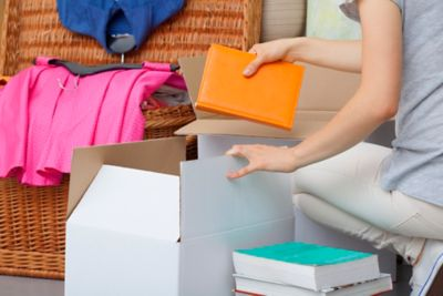 Bücher ausmisten Box