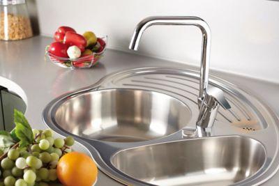 Küche reinigen Spüle