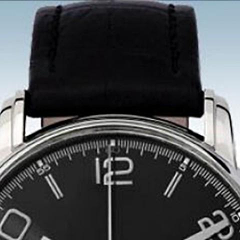 Como colar uma pulseira de relógio?