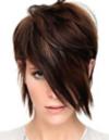 Volumizing product on women's hair