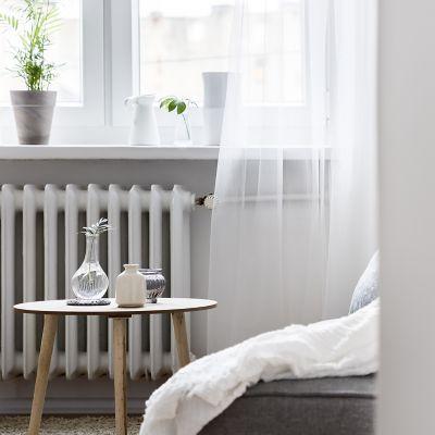 Heizkörper im Schlafzimmer