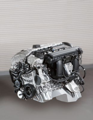 Engine block for an automotive  powertrain system