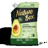 avocado shower gel pouch 500 ml packshot