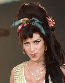 La chanteuse Amy Winehouse
