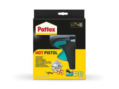 Pattex Комплект пистолет за горещо лепене