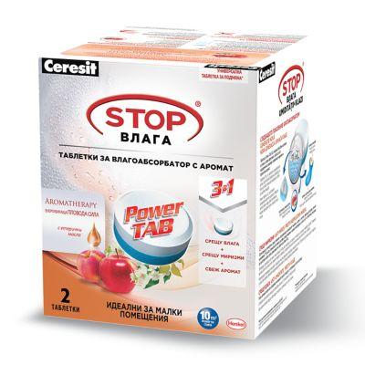 Power Tab таблетки за влагоабсорбатор Ceresit Pearl
