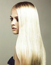 Plava kosa je trend