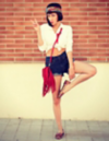 Fashion blogger Aminta