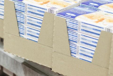 折叠纸箱示意图