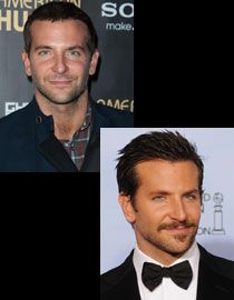 Les coiffures de Bradley Cooper