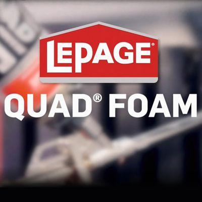 QUAD® Foam Sealant