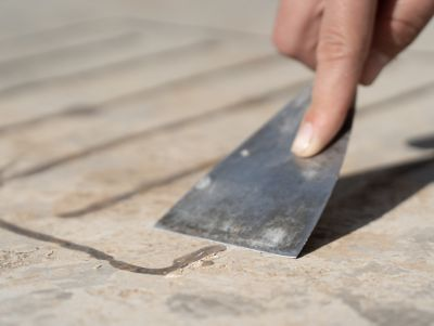 How to remove epoxy from concrete
