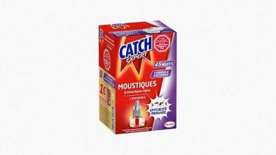 Catch Expert Recharge Électrique 45 Nuits Anti-Moustiques
