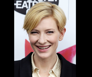 Cate Blanchett with short hairstyle