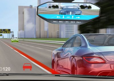 Digitalized mirrors provides more information that cannot be realized enough in terms of driving safety.