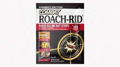 Combat Roach-Rid Roach killing bait strips