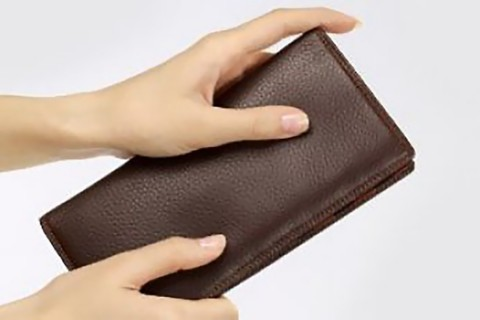 Come decorare un portafoglio?