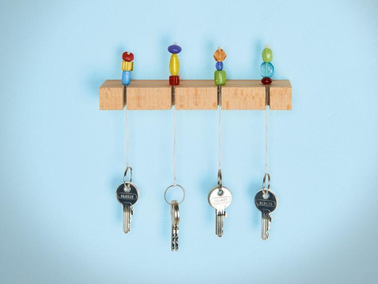 Schlüsselboard gestalten