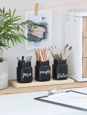 Stojan na tužky aneb zkrášlete si domácí kancelář s Pattex Repair 100 %