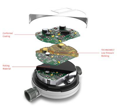 Illustration du circuit imprimé d'un compteur intelligent