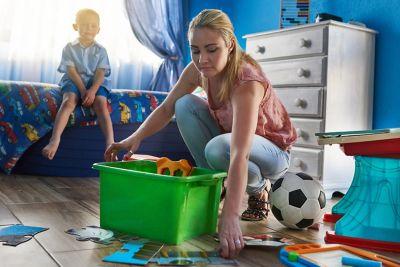 Clean Children's Room's Properly