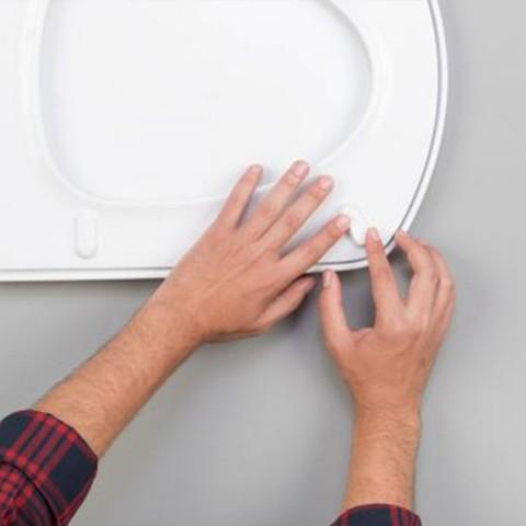 Fix a toilet seat