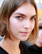 Blow-dry your bob and make it look silky and shiny