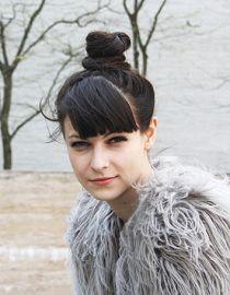 Прическа с шиньоном - Блогер Rike