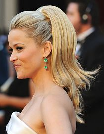 Reese Witherspoon and her Seventies Ponytail