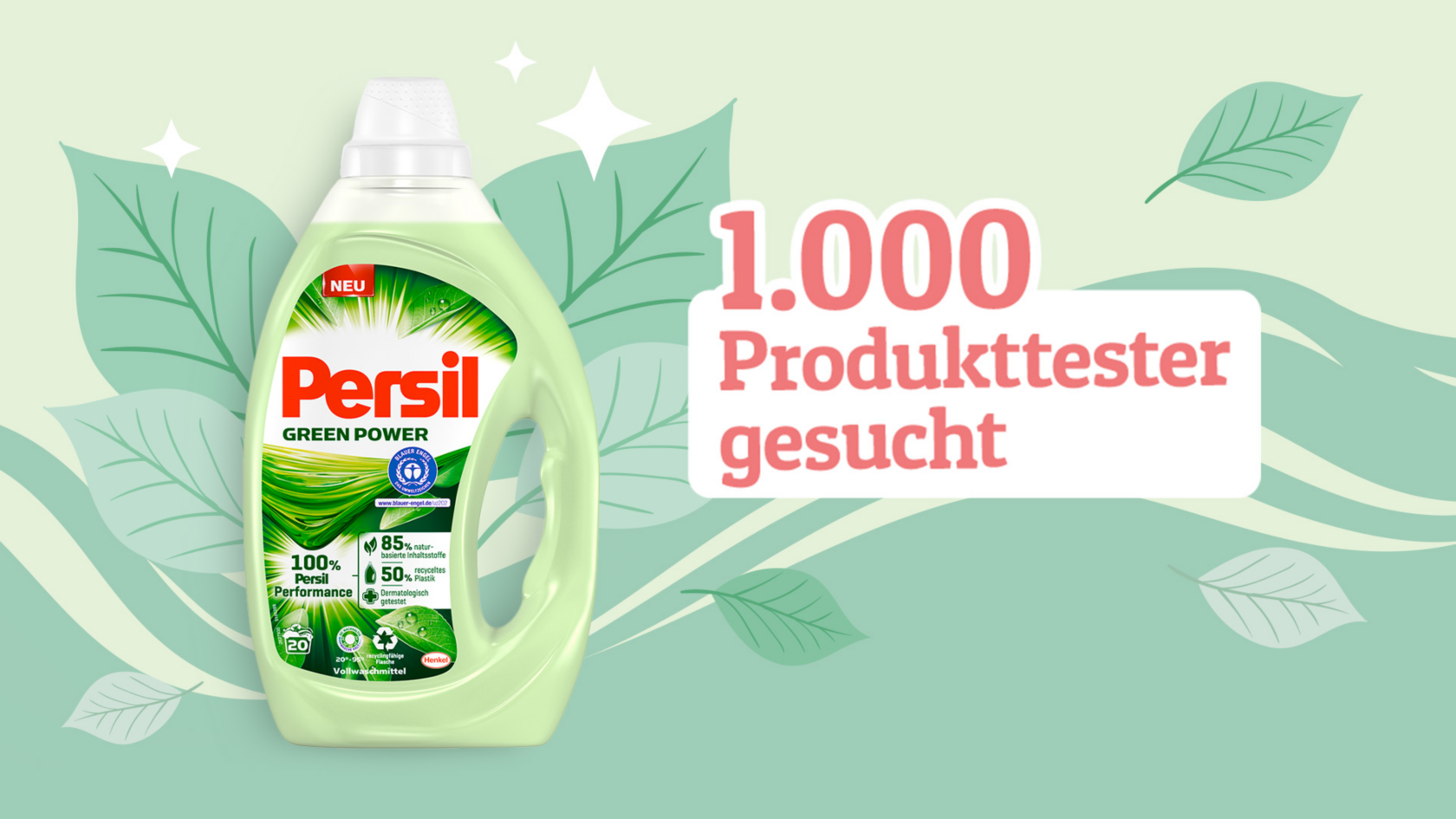 Persil Green Produkt Test