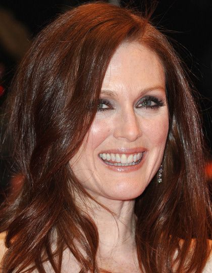 Julianne Moore sorridente