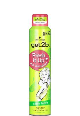 Suchy szampon - extra fresh