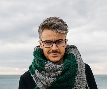 Haarfarbe männer graue Wunderschöne kurze