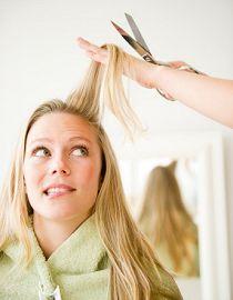 Cortar o cabelo não é a única solução