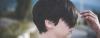 Asymmetrical Pixie hairstyle on woman