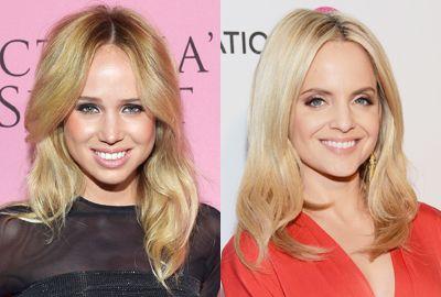 Lyst blondt hår