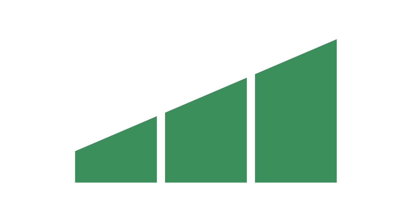 Illustrated green icon of a improved reflow unit with the words Improved reflow