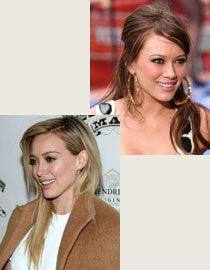 Os penteados de Hilary Duff