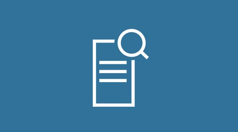 blue icon showing documents