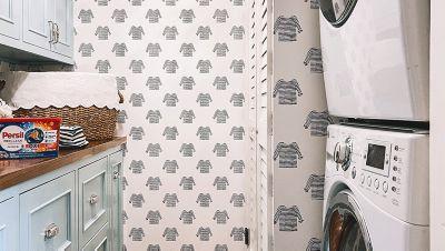 kellyinthecity laundry room renovation