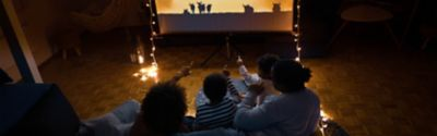 How to make a cinema at home